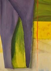 Sylwia Maruszczak-Płuciennik ,,Inner landscape. Composition 7'', oil on canvas, 110/80, 2013-2014