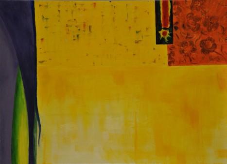 Sylwia Maruszczak-Płuciennik ,,Inner landscape. Composition 1'', oil on canvas, 110/80, 2013-2014