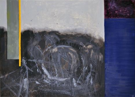 Sylwia Maruszczak-Płuciennik ,,Inner landscape. Composition 2'', oil on canvas, 110/80, 2013-2014