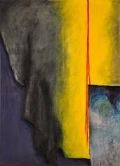 Sylwia Maruszczak-Płuciennik ,,Inner landscape. Composition 6'', oil on canvas, 110/80, 2013-2014